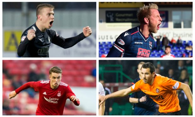 Some of the new Dundee signings.