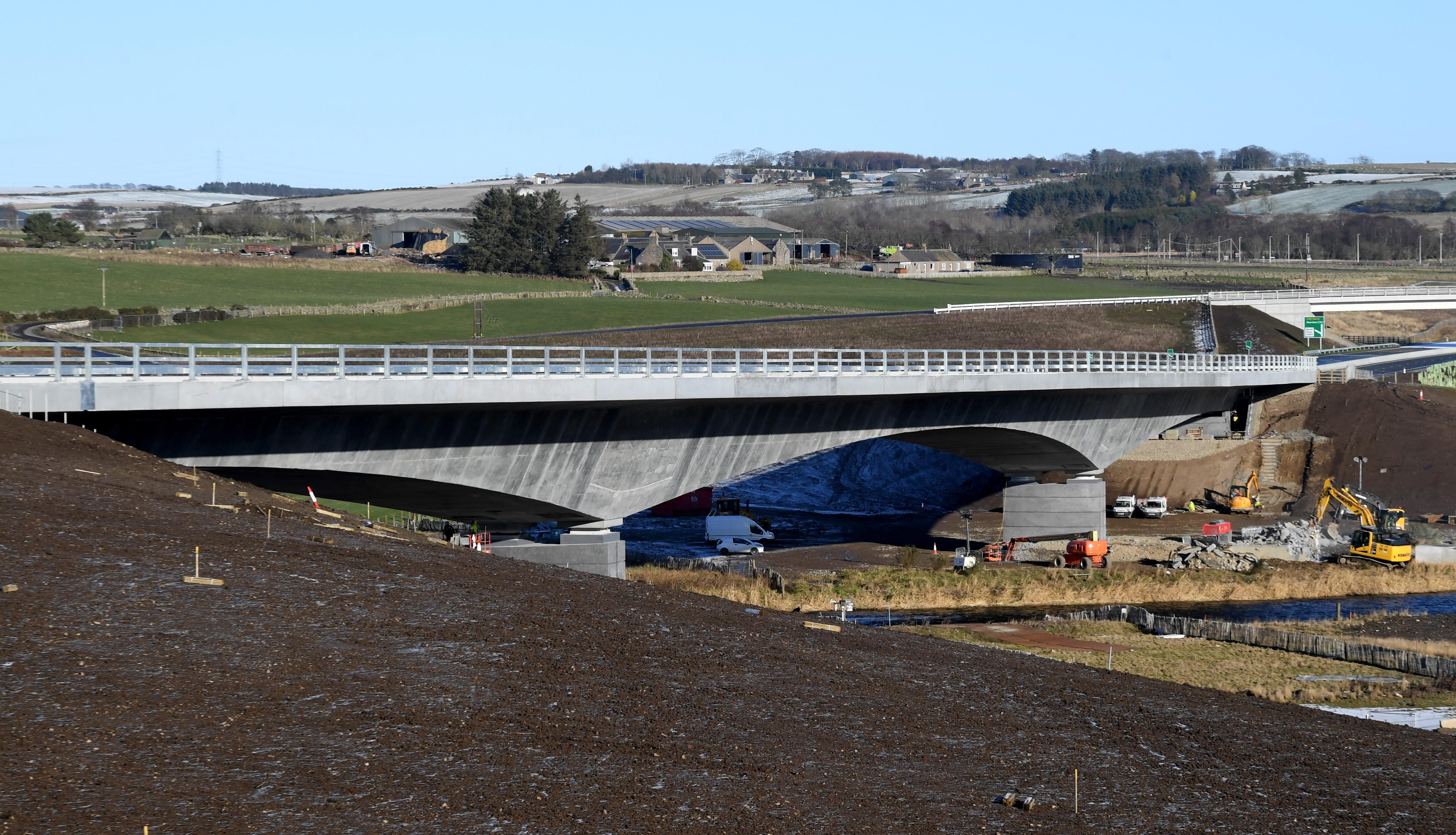 The AWPR bridge at Dyce.
