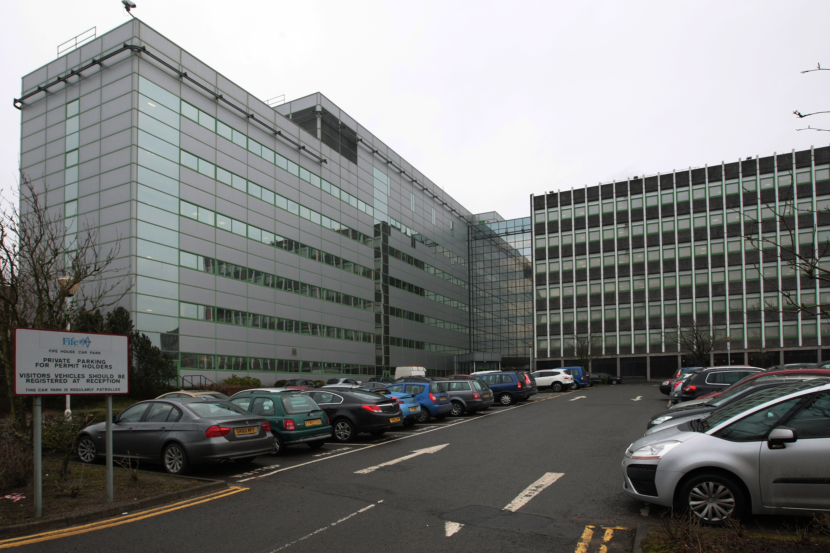 Fife House in Glenrothes, where Fife's budget for the coming year was set this week.