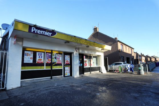 The Premier Shop in Glenogil Terrace, Forfar.