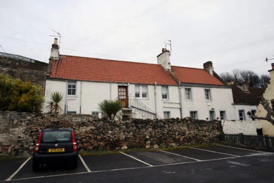 The holiday rental flat in Kinghorn at the centre of the legal dispute