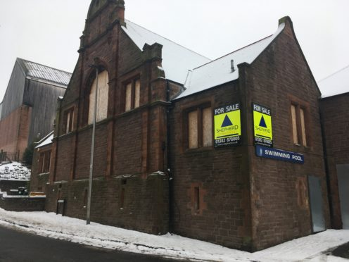 The old Forfar baths at The Vennel went on the market earlier this year.