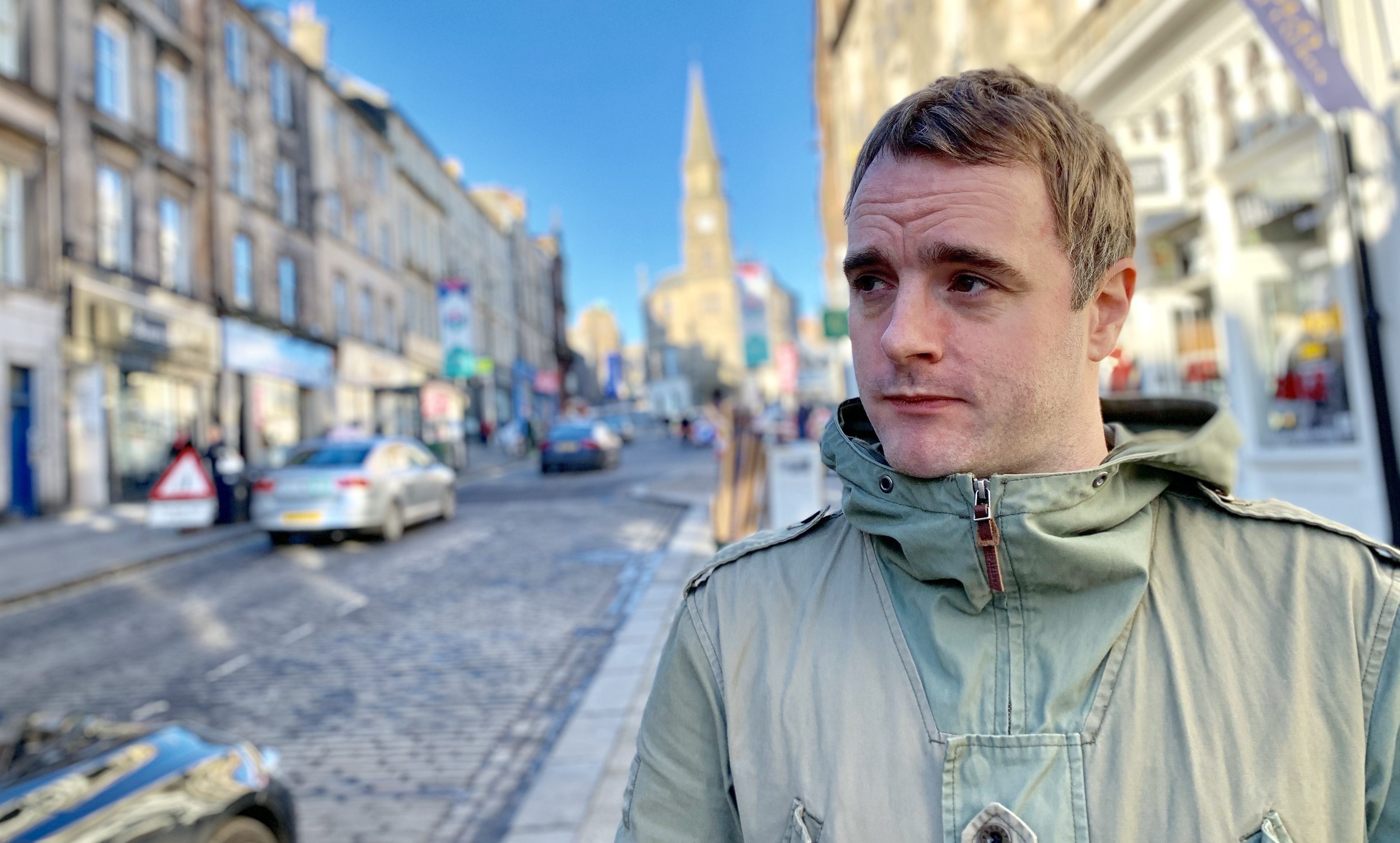 James Lafferty, the Perth student behind the new Forthside Festival