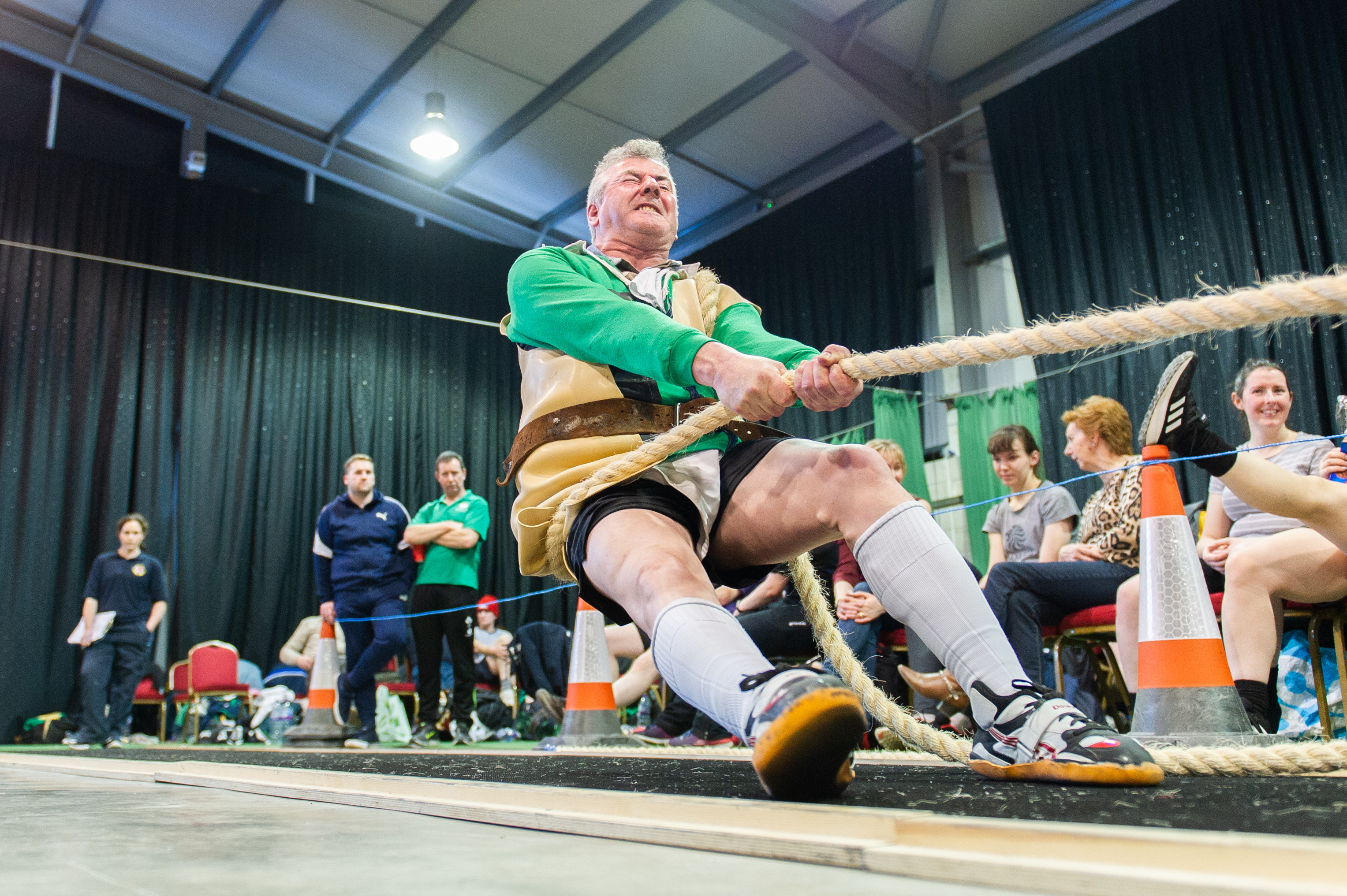 British and Irish Tug of War  championships at Piperdam leisure resort