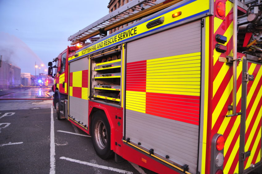 Scottish Fire and Rescue Service received more than 1,800 call-outs to deliberate fires in 2017-18.