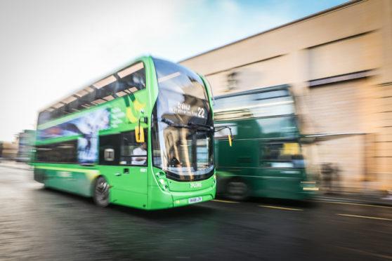 Xplore Dundee Bus.