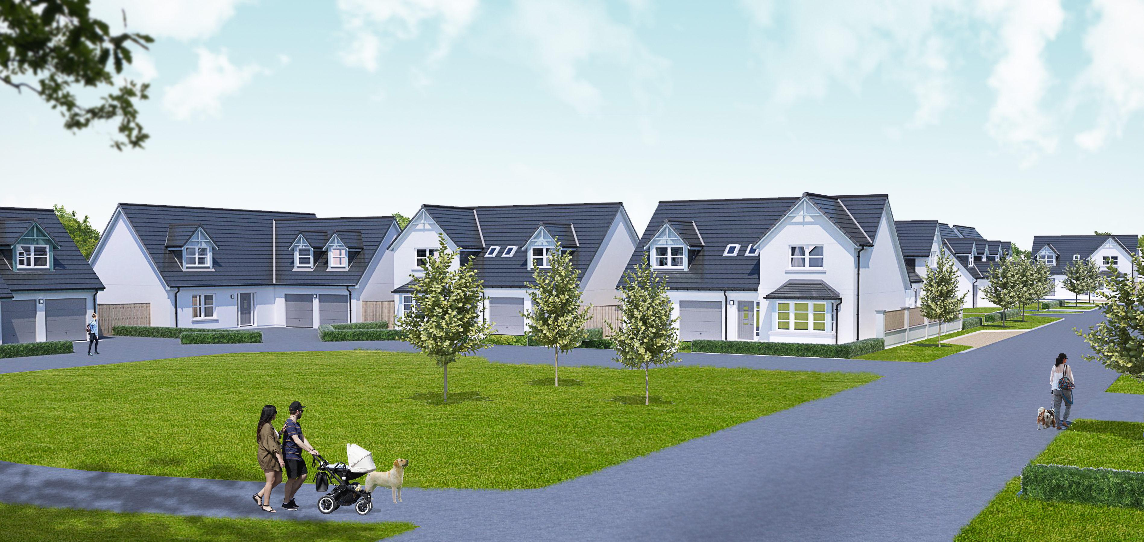 The Balgillo Heights development.