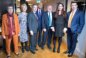 The Splitters: Former Labour MPs (left to right) Ann Coffey, Angela Smith, Chris Leslie, Chuka Umunna, Mike Gapes, Luciana Berger and Gavin Shuker after they announced their resignations during a press conference at County Hall in Westminster and the creation of a new Independent Group in the House of Commons, in the most significant split in British politics since the breakaway of the Social Democratic Party in the 1980s.
