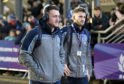 Stuart Hogg (left) and Tommy Seymour are back in tandem for Glasgow.