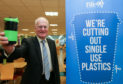 Councillor Ross Vettraino leads the plastic-free way