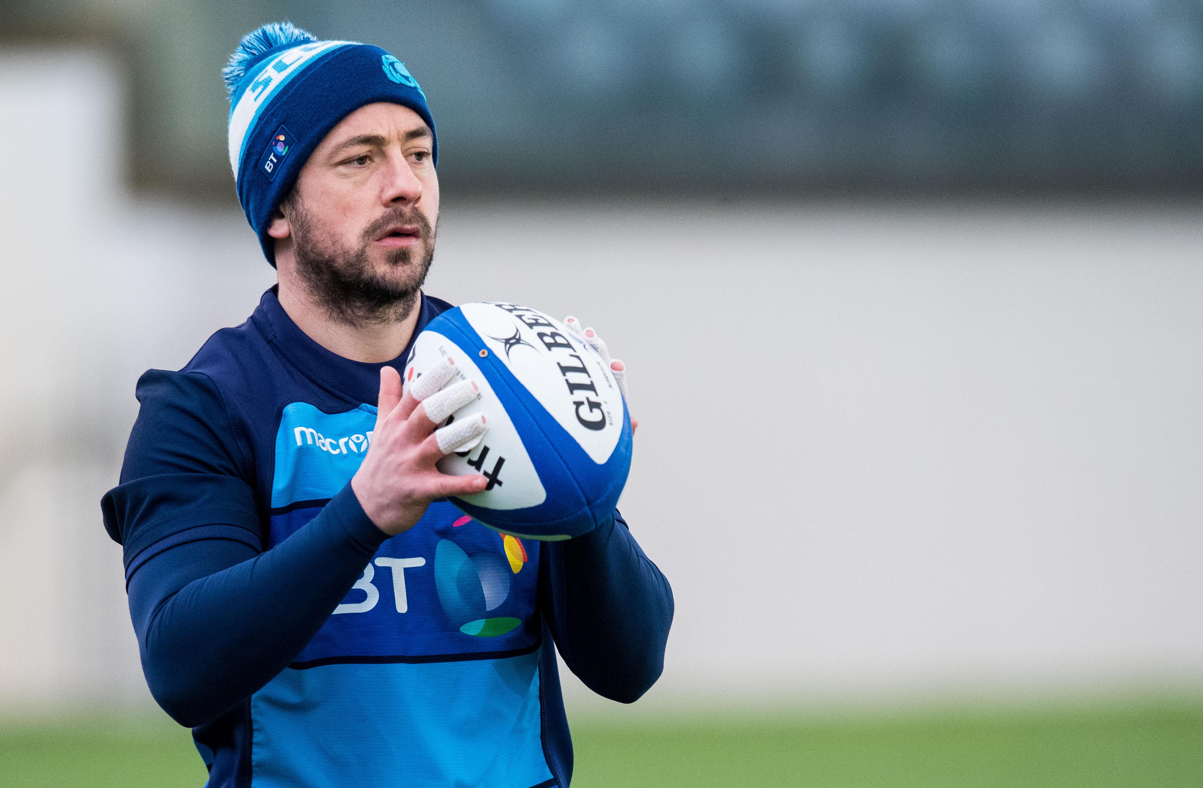 Scotland captain Greig Laidlaw.