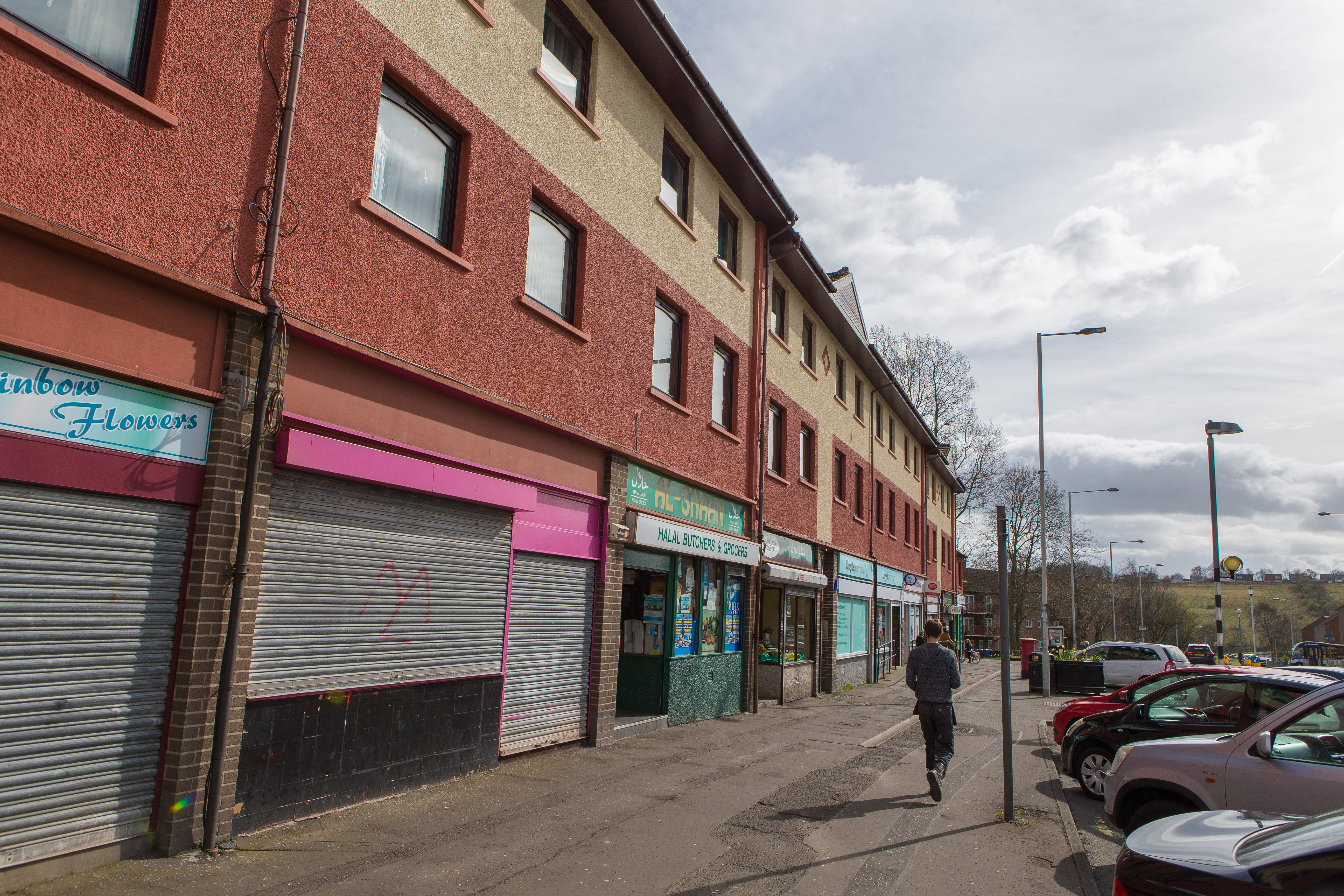 The Templehall area of Kirkcaldy, where some streets fall into the 10% most deprived neighbourhoods of Scotland.