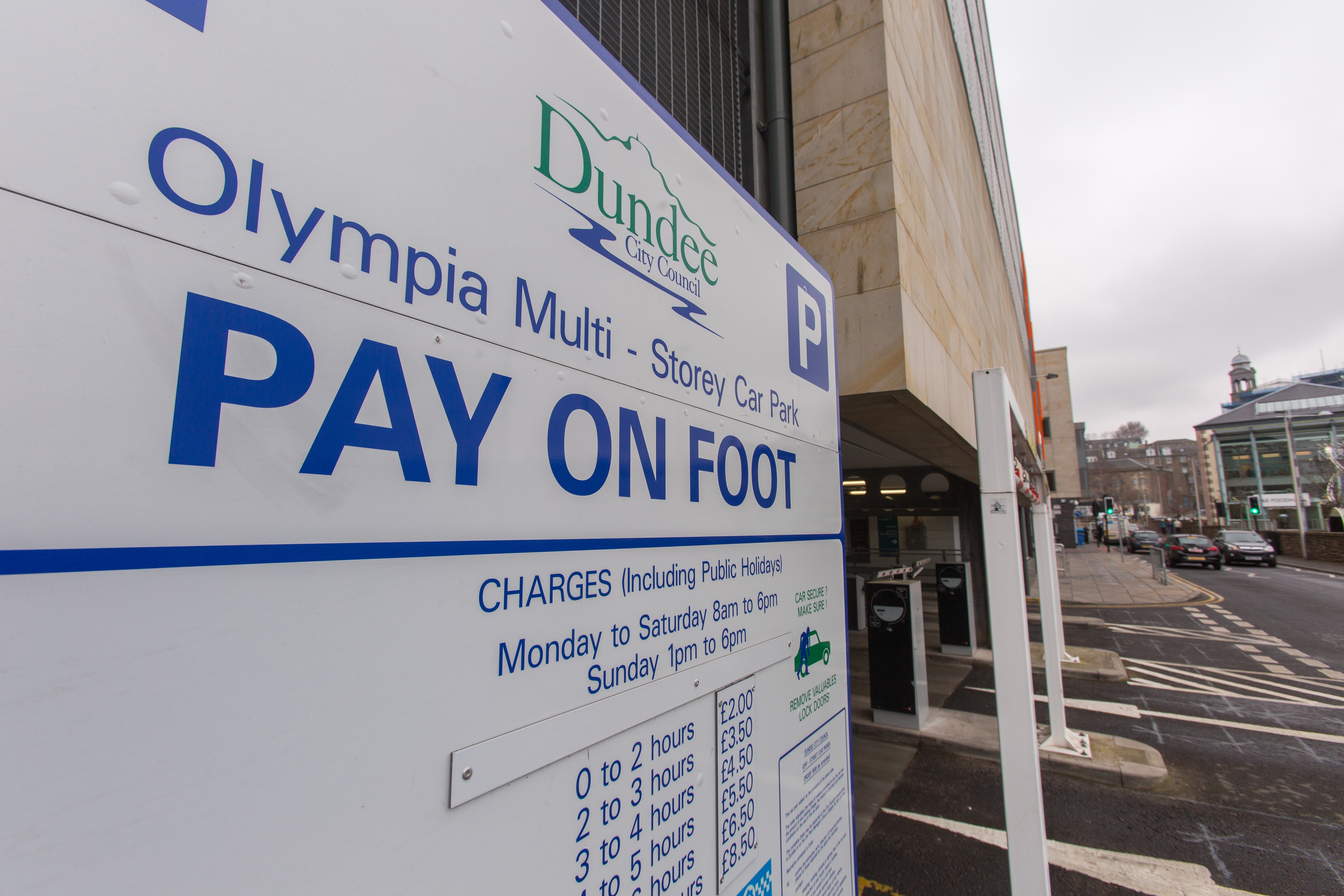 Parking charges will remain suspended in Dundee.