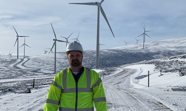 Mark Robson, managing director of Coast Renewables, has underlined the potential of offshore wind to Dundee.