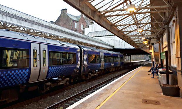 Arbroath Railway Station.