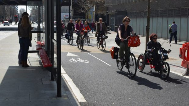 Disabilities are not a limiting factor to cycling.