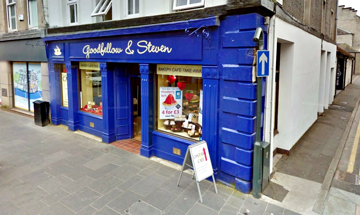 Goodfellow & Steven on Perth High Street.