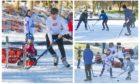 Ice hockey at Swannie Ponds.