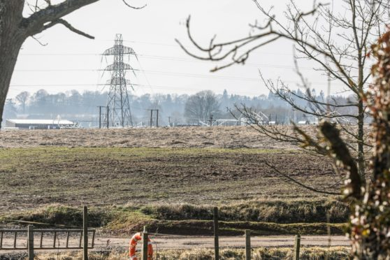 Coronation Power have lodged an application to install a battery storage compound on agricultural land near Coupar Angus