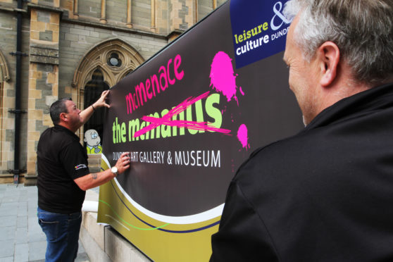 The 'McMenace' Art Gallery and Museum