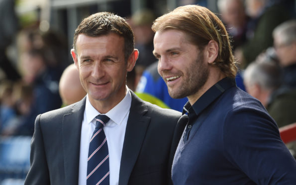 Jim McIntyre and Robbie Neilson will both be happy with their January transfer business.