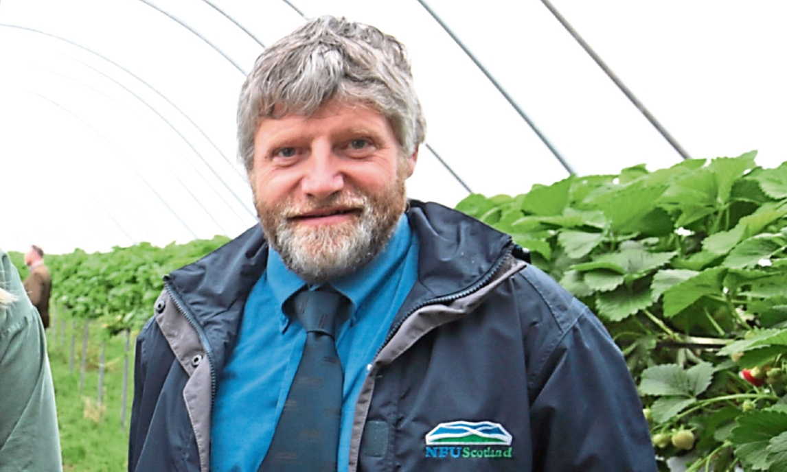 NFUS vice-president Martin Kennedy.