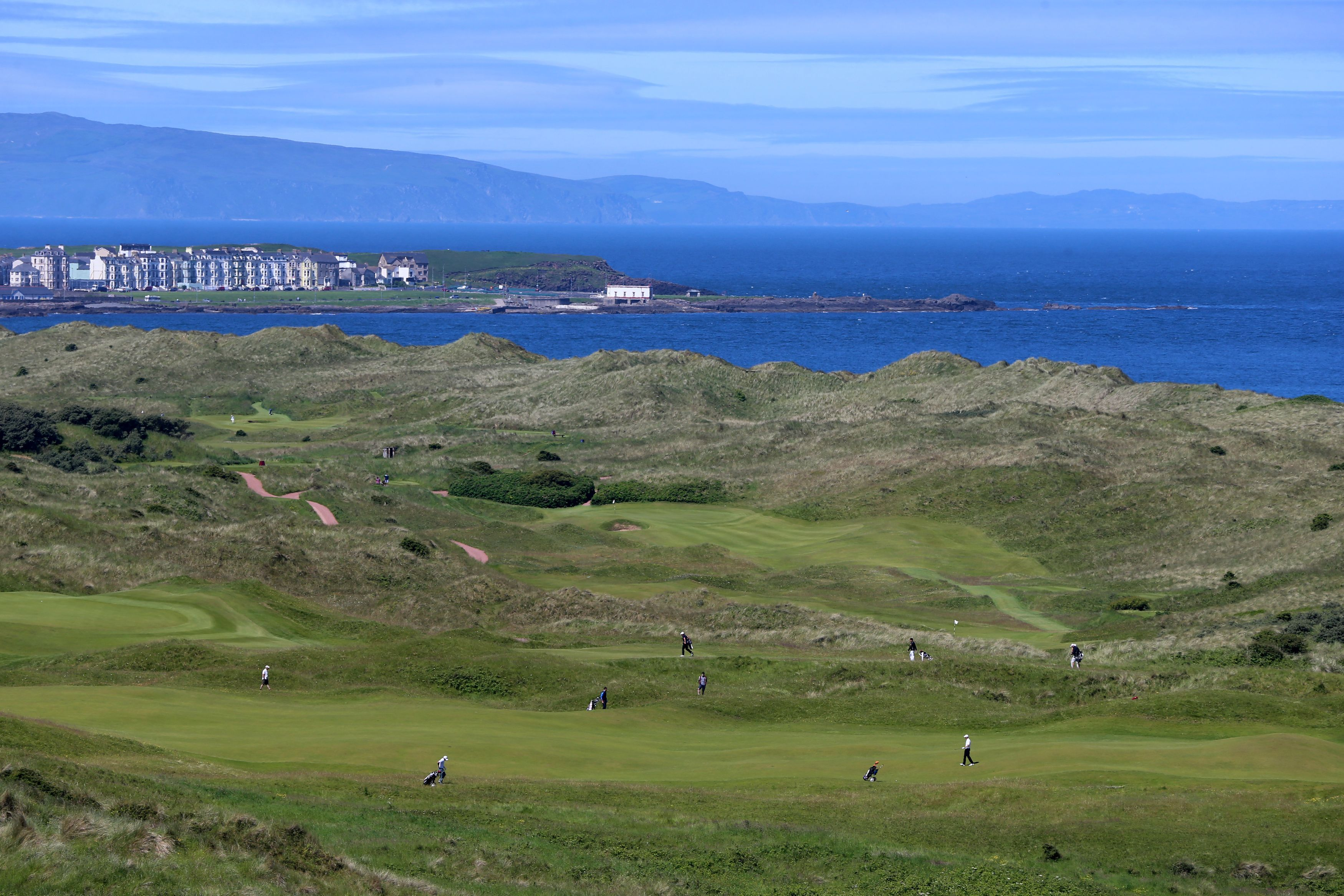 Royal Portrush Golf Club, host of this July's Open.