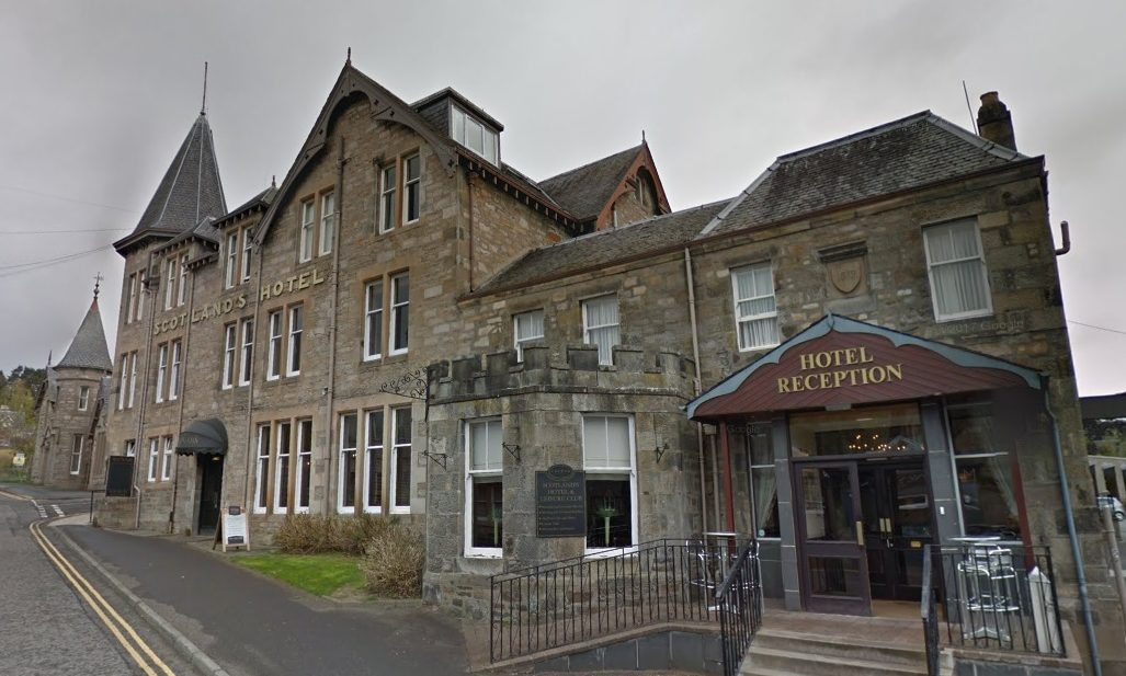 Flats are earmarked for land near Scotlands Hotel, PItlochry