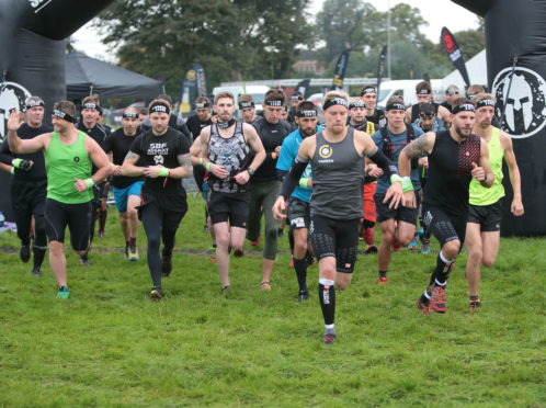 The elite event starts at the 2018 Spartan Race.
