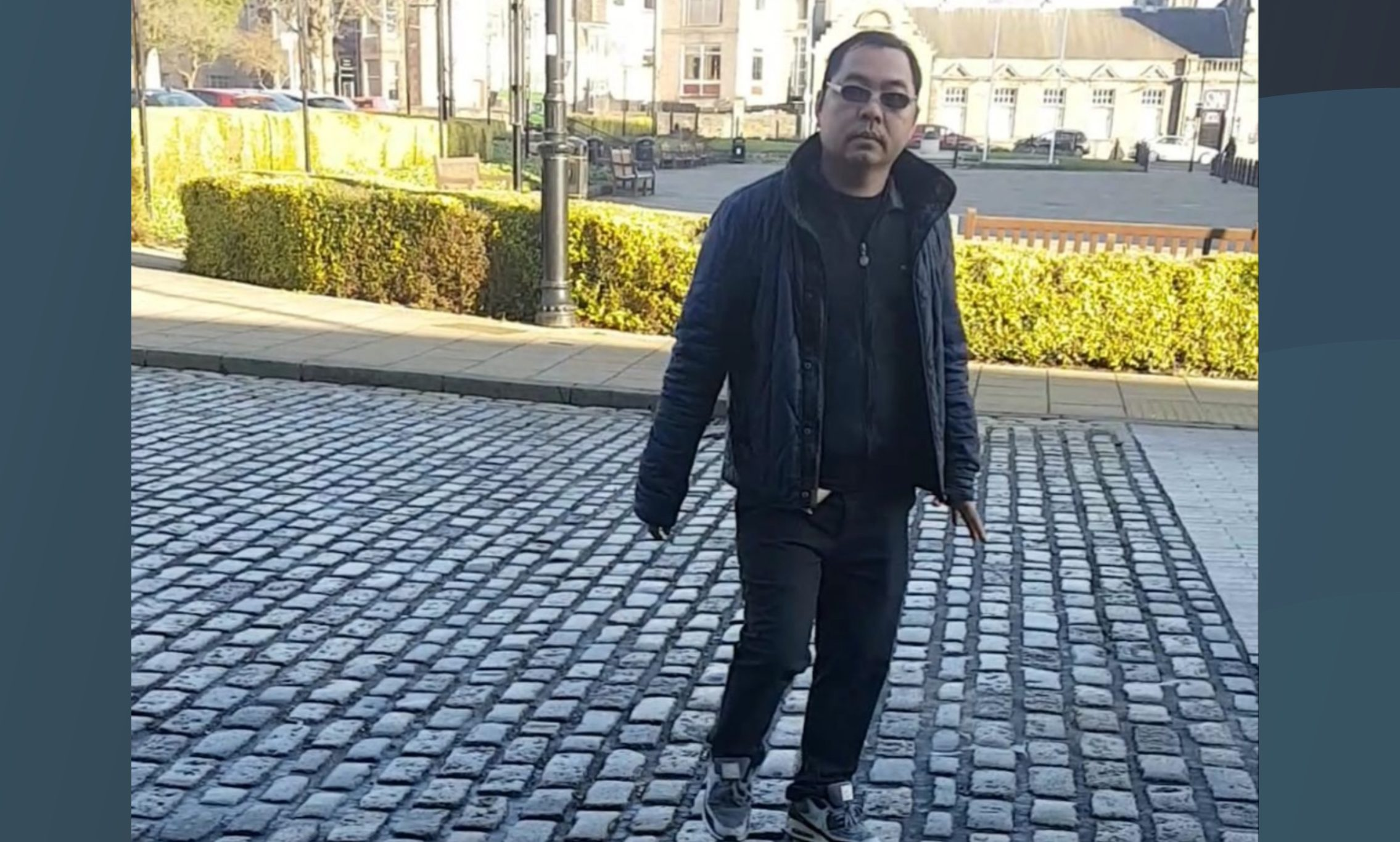 Tinh Van Nguyen outside Kirkcaldy Sheriff Court.