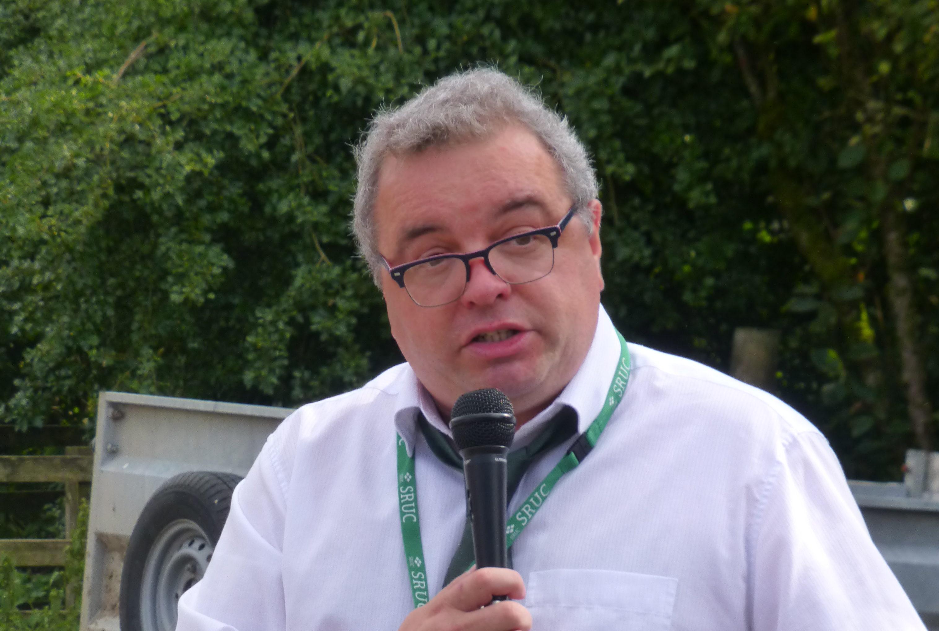Professor Davy McCracken said upland areas still face a lot of demands.