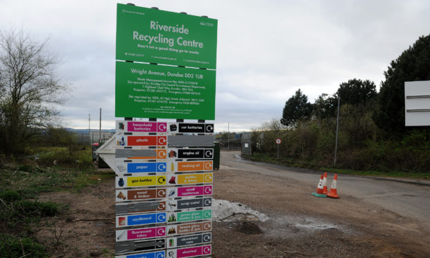 Riverside Recycling Centre.
