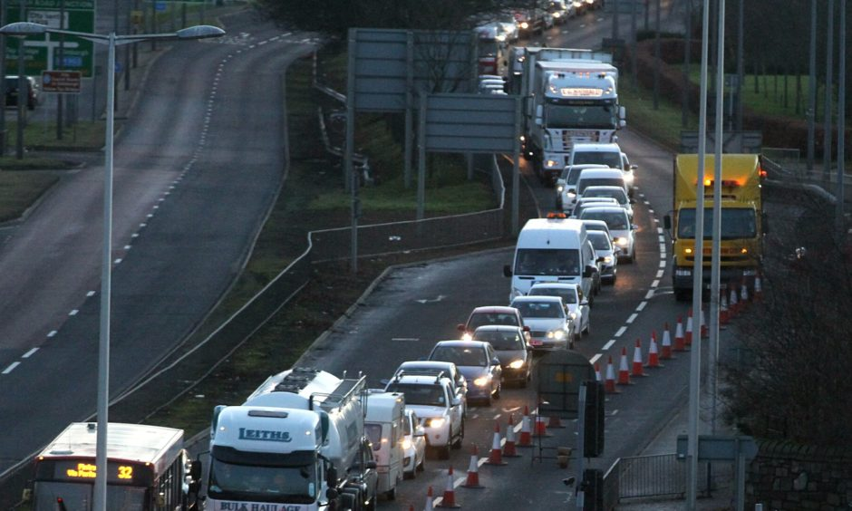 The Scottish Government has no immediate plans to improve the Kingsway