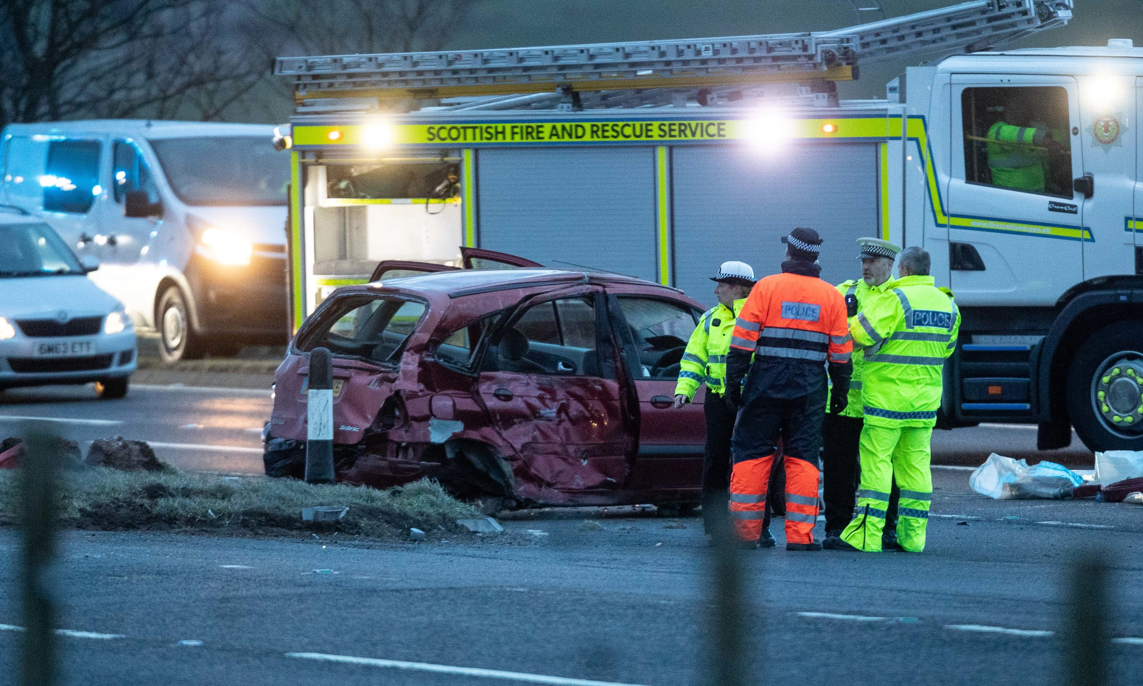 The victims of the fatality were all travelling in a Renault Scenic MPV