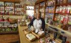 Liz Crossley-Davies at the Star Rock Shop.