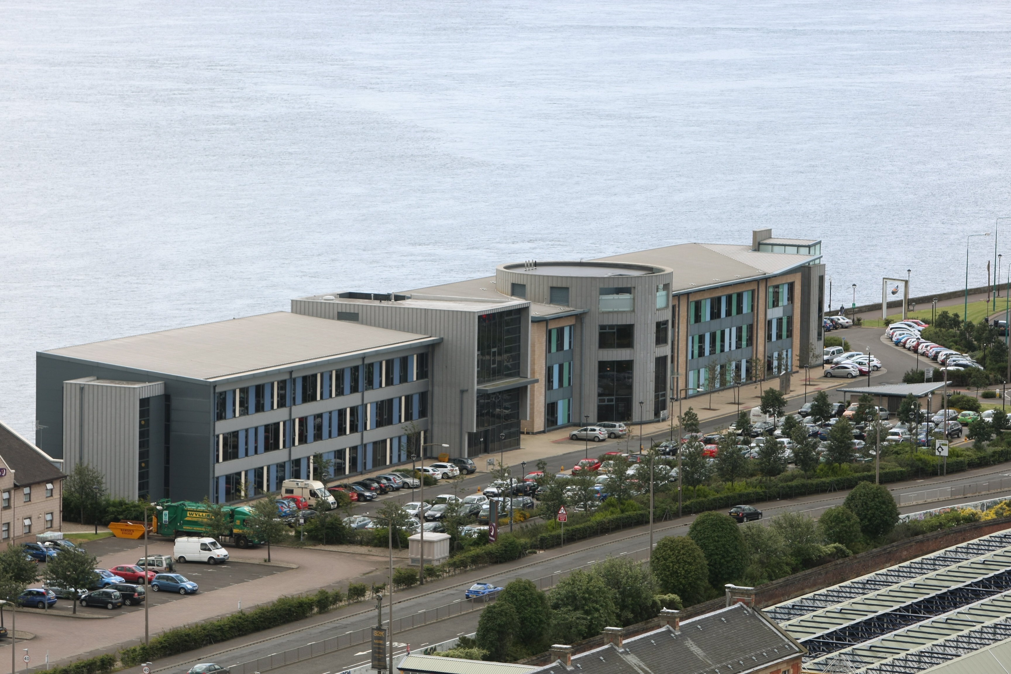 The SSSC is based at Compass House, Dundee