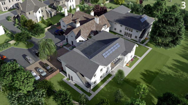 An artist's impression of what the proposed care home could look like.