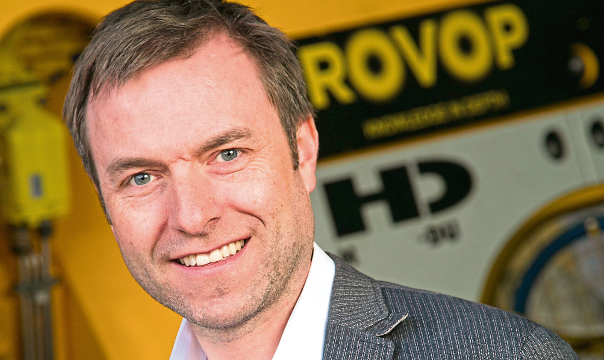 Steven Gray, ROVOP CEO
