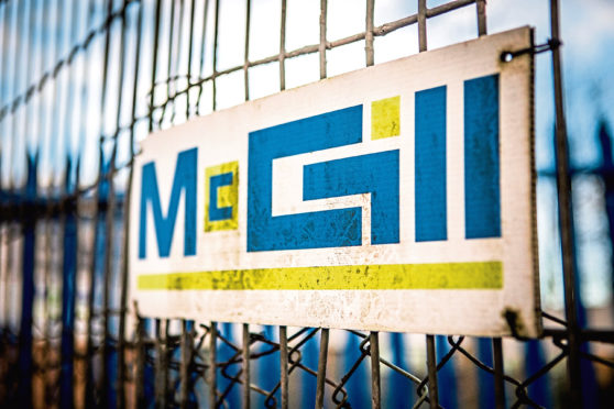 McGill went into administration with the loss of 374 jobs last month.