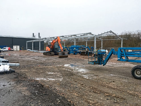 The Saltire Business Parks development at Old Craigie Road in Dundee