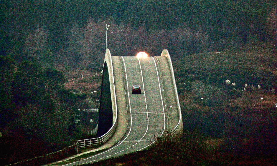 The Skye Bridge spans the gap between the Scottish island and the mainland. Ever since its construction the bridge has inspired controversy. Alex believes the SNP is missing an opportunity to reimagine our roads.