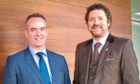 Broker Insights chief executive Fraser Edmond and chairman Chris van der Kuyl_24654103