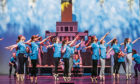 The Rock Challenge taking place at Caird Hall,