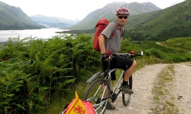 Alan Brown on his coast-to-coast cycling adventure
