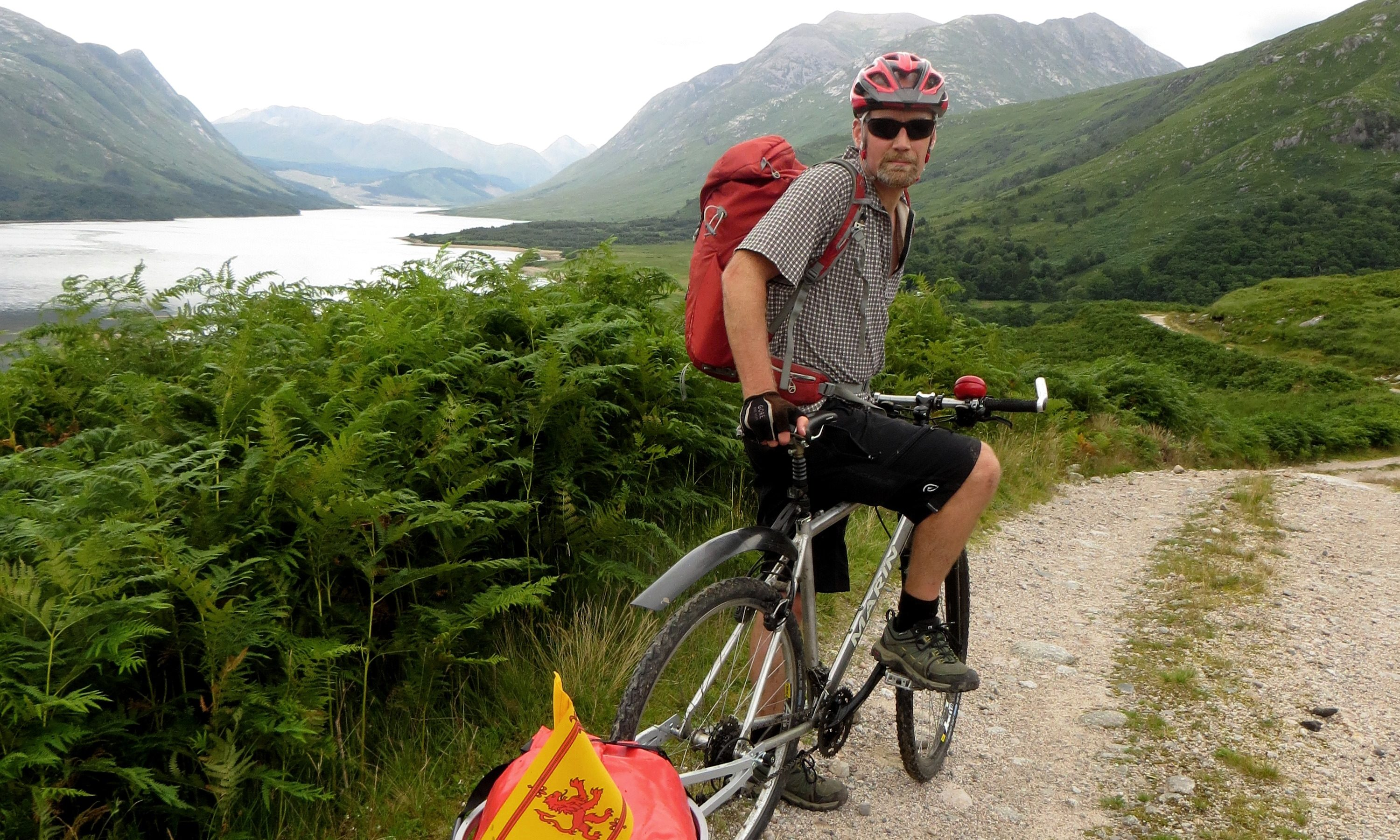 Alan Brown on his coast-to-coast cycling adventure