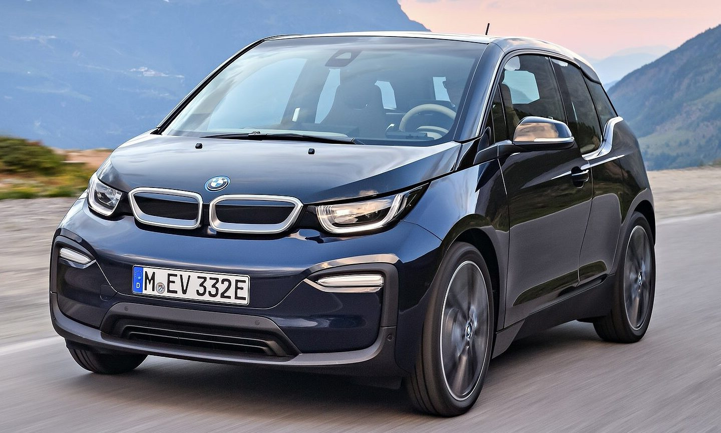 BMW i3 electric vehicle.