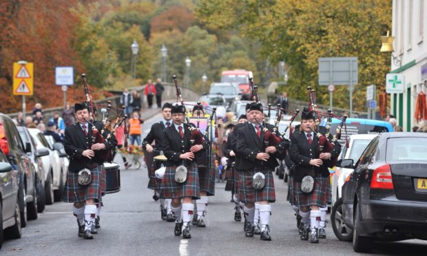 Blair Atholl Pipe Band is among scores of groups to benefit from the new fund.