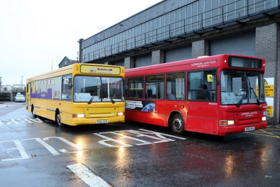 Help is being sought to move the conversion from the old bus (left) to the new one (right),