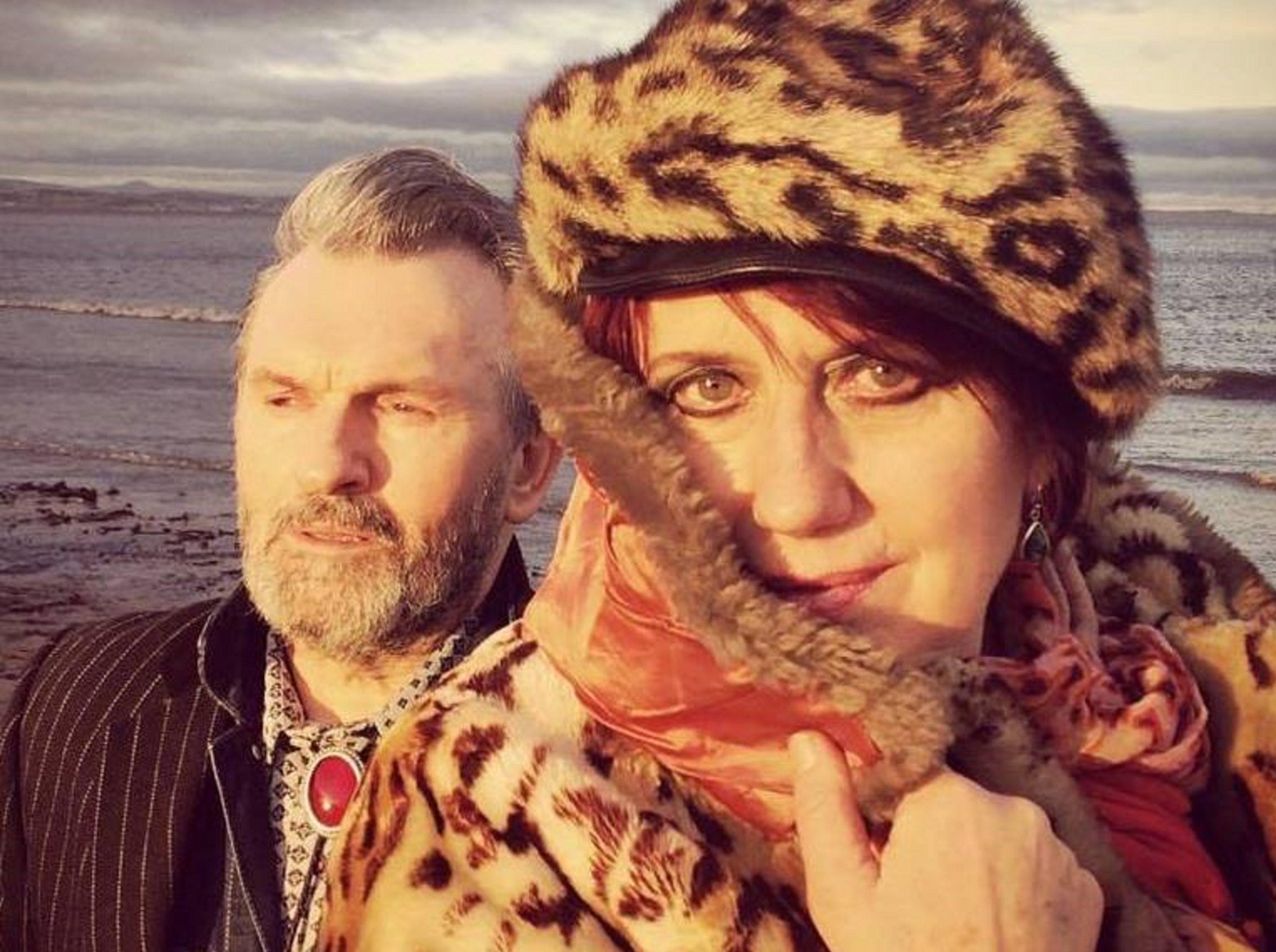 Allan Mcdowall and Fay Fife, aka Countess Of Fife. Photo: Liz Tainsh.