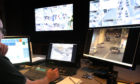 CCTV cameras are monitored round-the-clock from Police Scotland Fife headquarters in Glenrothes